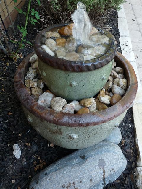 flower pot fountain