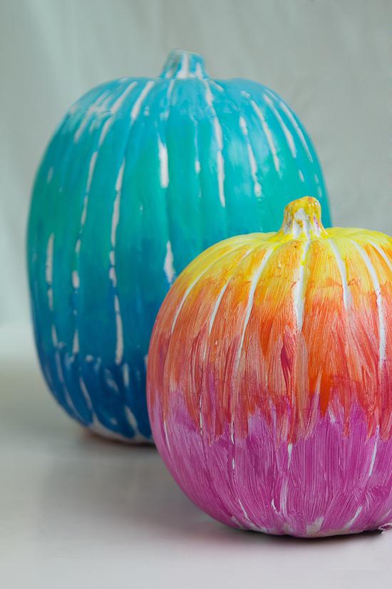 ombre pumpkins