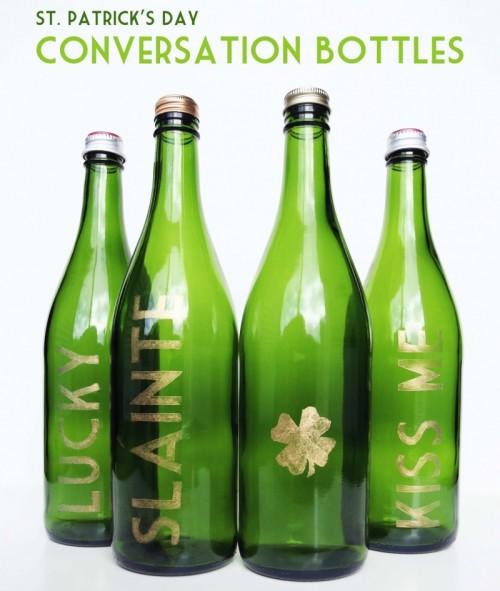 conversation bottles (via blissbloomblog)