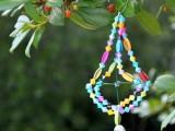 diy vintage beads ornament