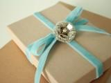 vintage Christmas gift wrapping