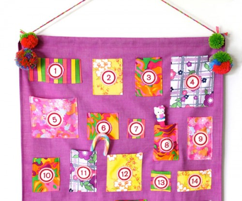 colorful vintage advent calendar (via mypoppet)