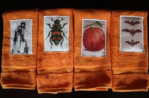 vintage Halloween guest towels (via yesterdayontuesday)