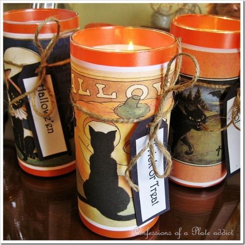 easy vintage Halloween candles (via confessionsofaplateaddict)
