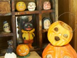 vintage Halloween corner
