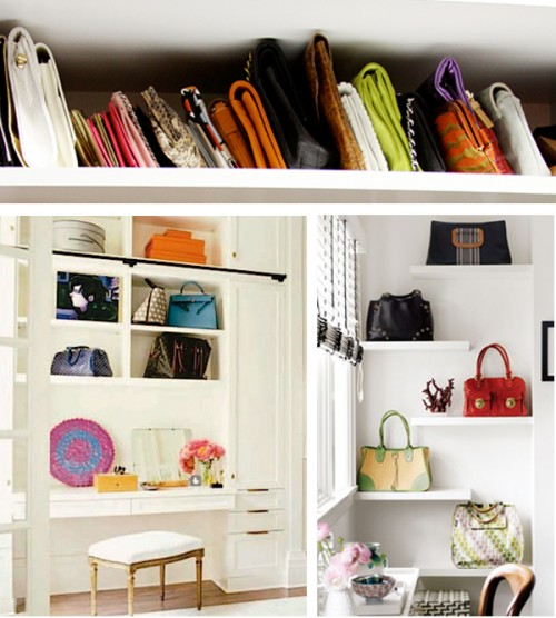 9 Wall Storage Ideas That You Need To Try: 17 Creative Bags Storage Ideas