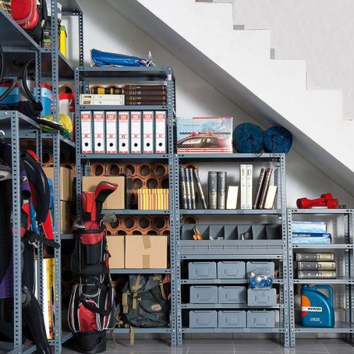 Basement Stairs Storage 5 basement under stairs storage ideas - shelterness