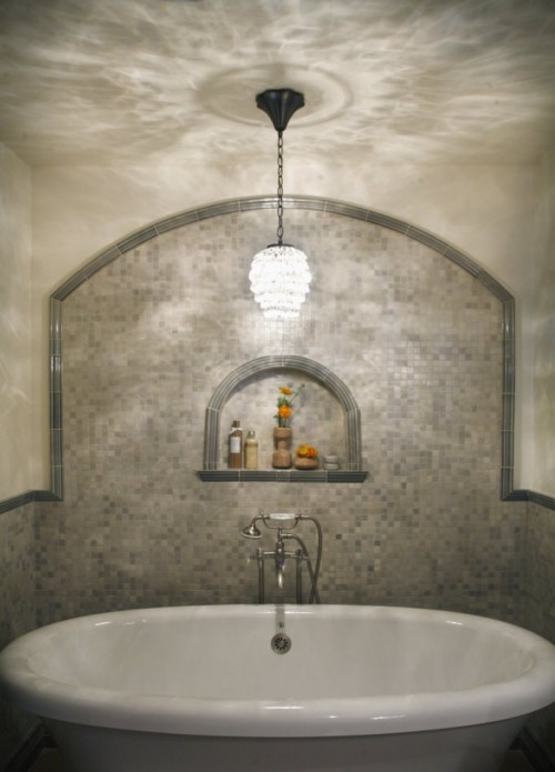 21 cool bathroom backsplash ideas shelterness