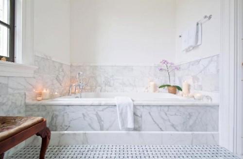 Bathroom Backsplashes Ideas 21 cool bathroom backsplash ideas - shelterness