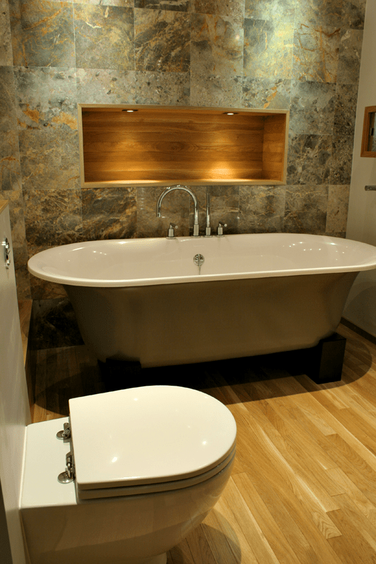bathroom backsplash ideas shelterness