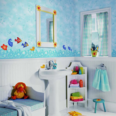 10 Little Girls Bathroom Design Ideas | Shelterness