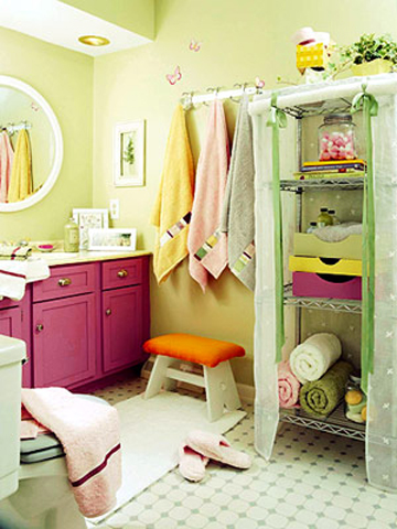 Bathroom For A Little Girl