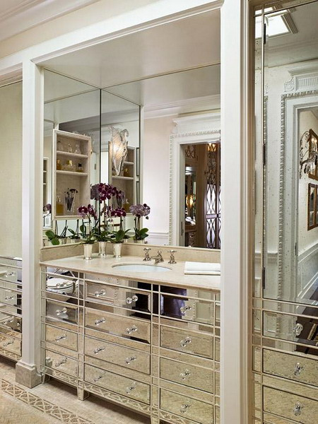 Small Walk In Closet Ideas With Mirror