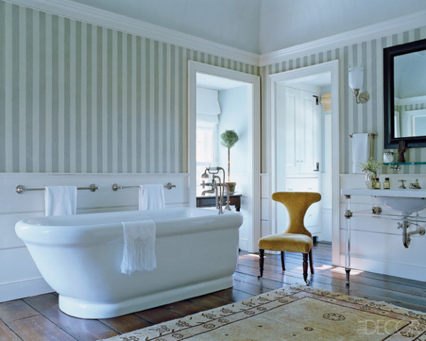 Picture of bathroom with wallpaper for Bathroom wallpaper patterns