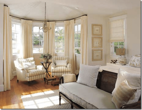 50 Cool Bay Window Decorating Ideas Shelterness Two Cozy Armchairs And A  Side Table Could Easily