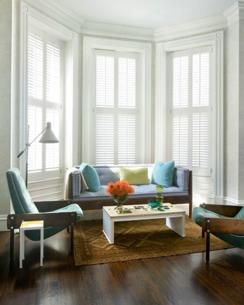 Living Room Lighting 20 Powerful Ideas To Improve Your: 50 Cool Bay Window Decorating Ideas