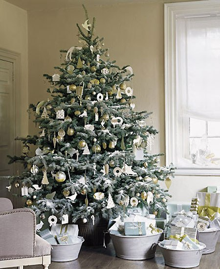 Very Best White Christmas Tree Decorating Ideas 450 x 549 · 72 kB · jpeg