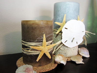 sea inspired candles