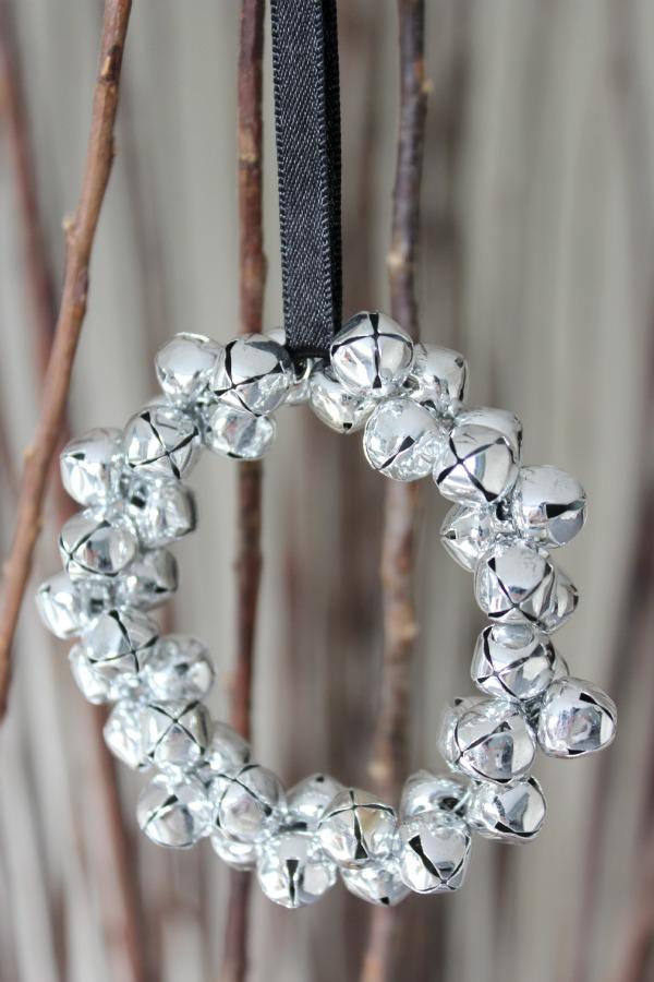 Beautiful Diy Jingle Bells Ornaments