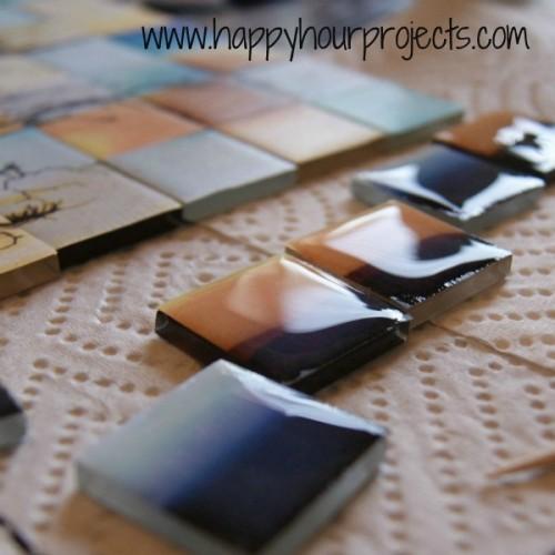 Beautiful Diy Tile Tree Mosaic