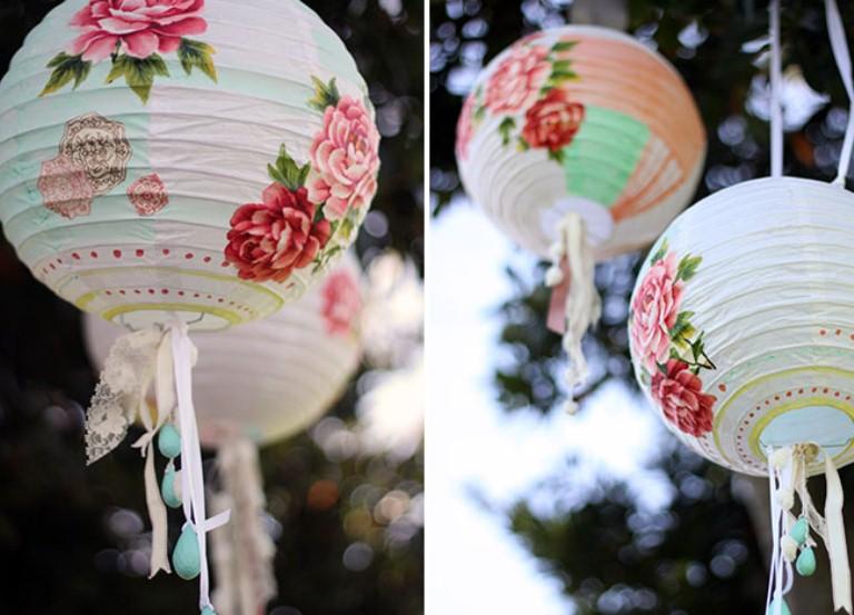 Beautifully Decorated Diy Paper Lanterns