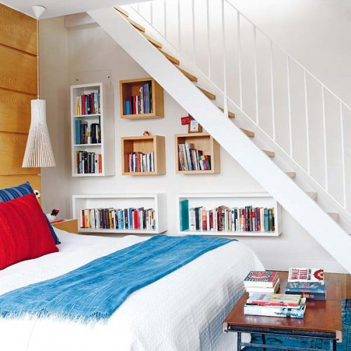 Bedroom Under Stairs Storage