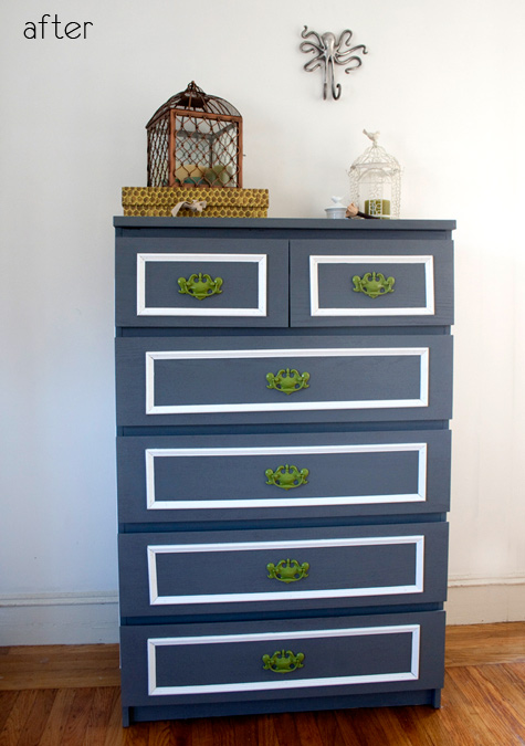 Before & After – IKEA Malm Dresser Renovation