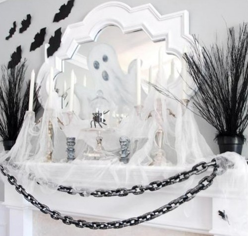 15 The Best Halloween Fireplace Mantels Around The Internet