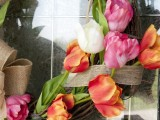Beutiful Diy Tulip Wreath