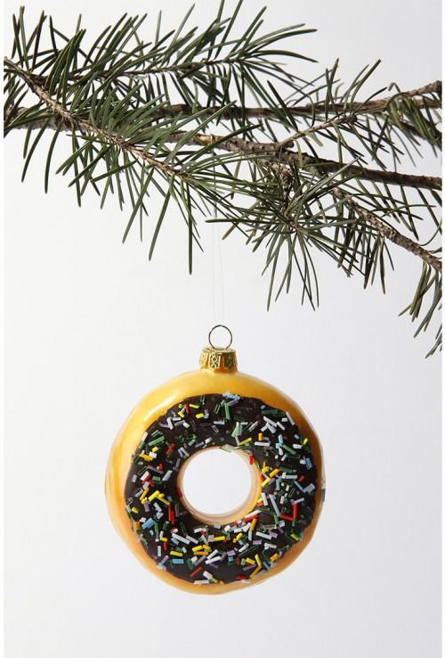 Big Donut Christmas Tree Ornament