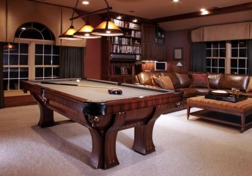 Billiard Room Decor Inspirations