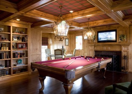 Billiard Room Decor Inspirations