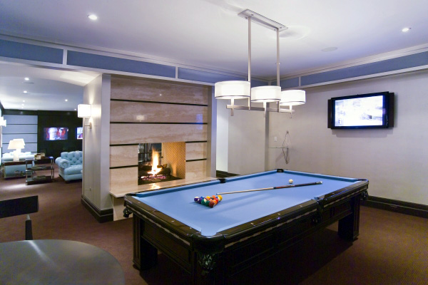 Picture of billiard room design ideas - Cool rooms with pools ...