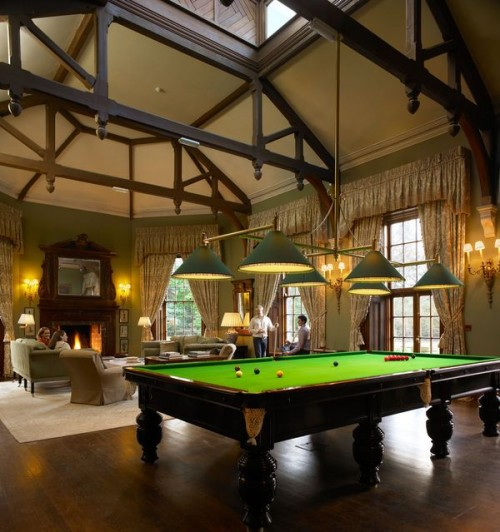 Billiard Room Design Ideas