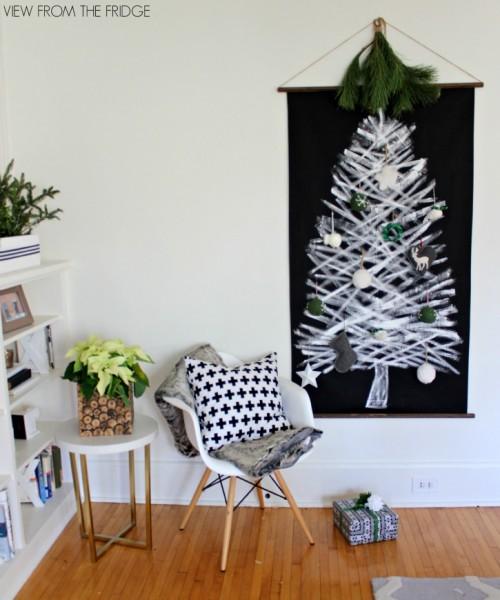 tree wall hanging (via viewfromthefridge)