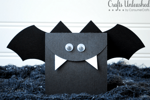 bat treat bags (via craftsunleashed)