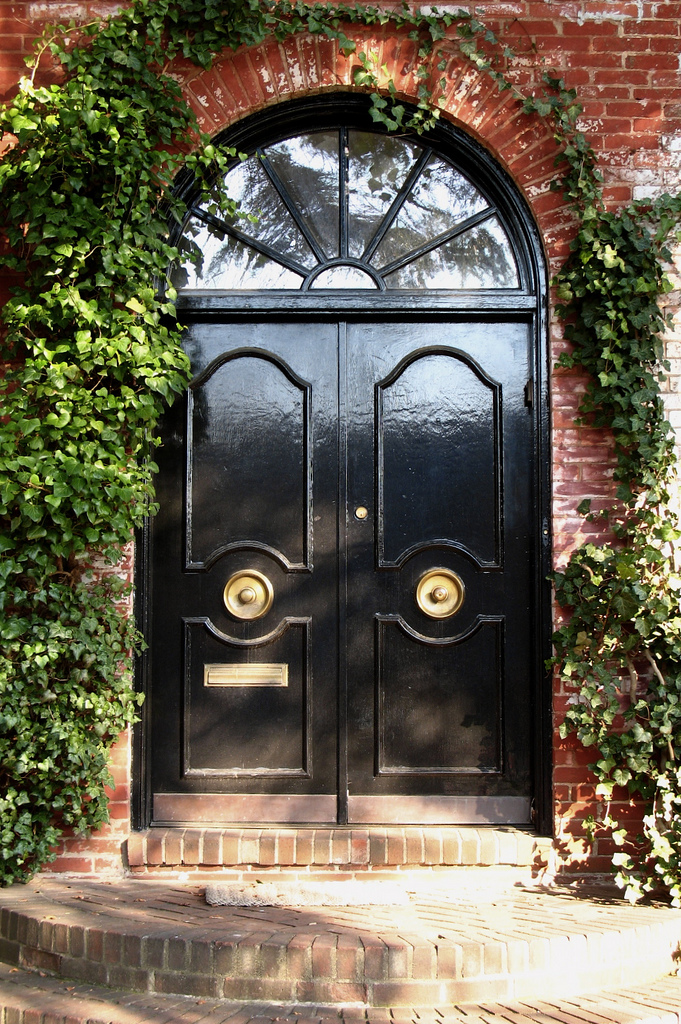 Black Front Door Design