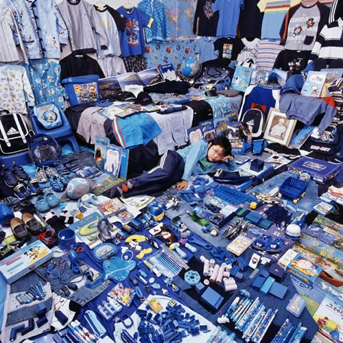 Blue Boy Room