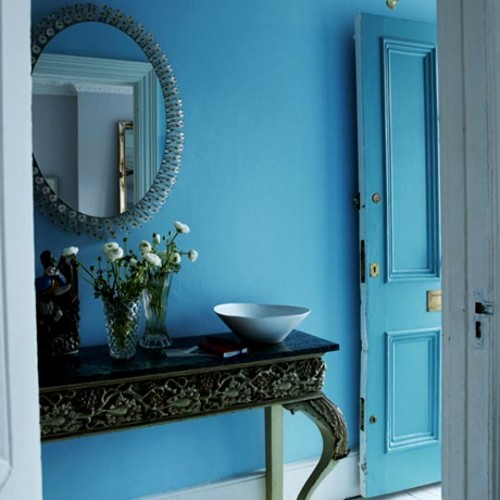 Blue Front Door Design