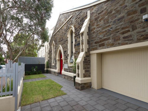 Bluestone Church Transformed Into Contemporary Home
