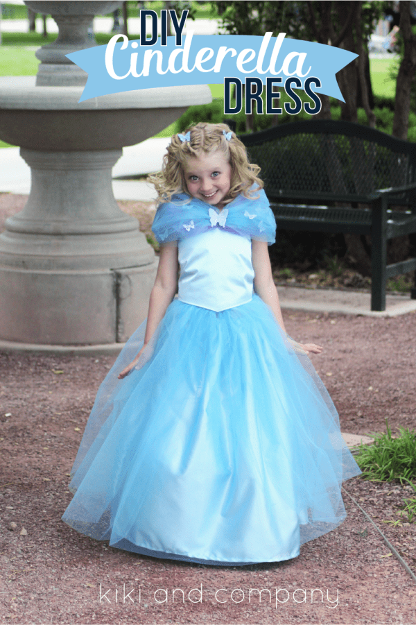 Picture of cinderella costume for Cute homemade halloween costumes for girls