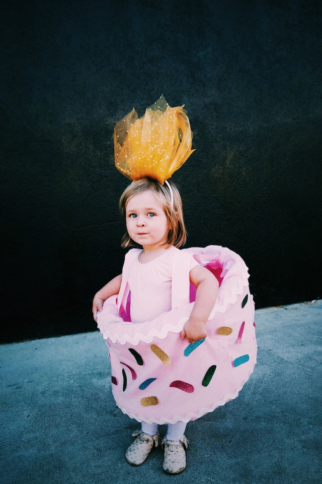 Picture of birthday cake costume for Cute homemade halloween costumes for girls