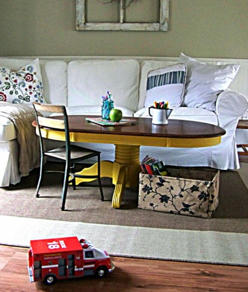 Before & After – Bold Coffee Table Renovation