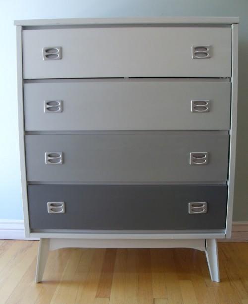 grey ombre dresser (via oopsredone)