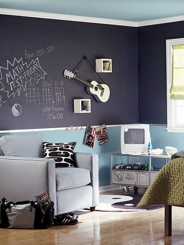 Boy S Room Design For A Music Fan Shelterness