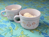 colorful ice cream bowls