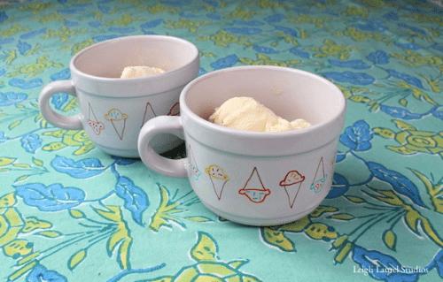 colorful ice cream bowls (via leighlaurelstudios)