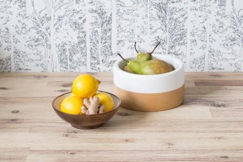 painted wooden bowls (via matildigt)