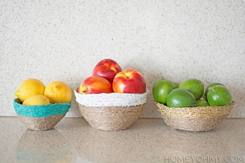 string fruit bowls (via homeyohmy)