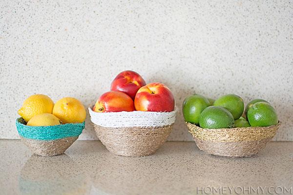 string fruit bowls
